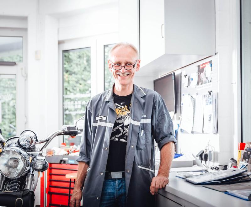 Werner Brinker (Service-Leiter)
