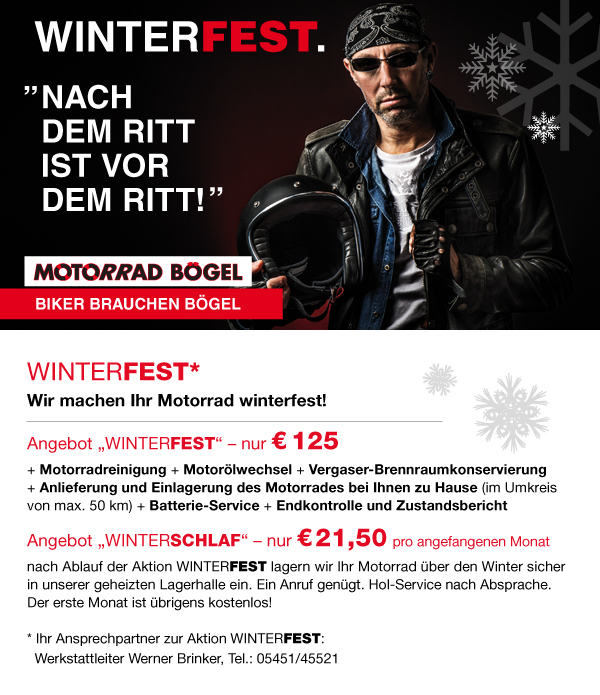 wir machen ihr motorrad winterfest. Black Bedroom Furniture Sets. Home Design Ideas