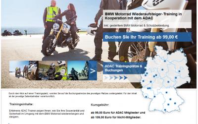 BMW Motorrad Wiederaufsteiger‐Training