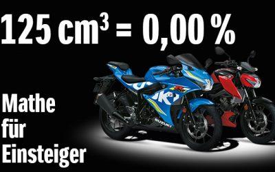 Suzuki 125er 0% Finanzierung & mehr
