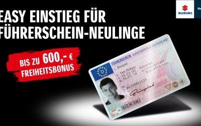 EASY EINSTIEG FÜR FÜHRERSCHEIN-NEULINGE
