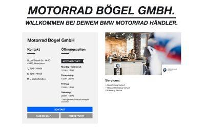 Unsere neue BMW Motorrad Website