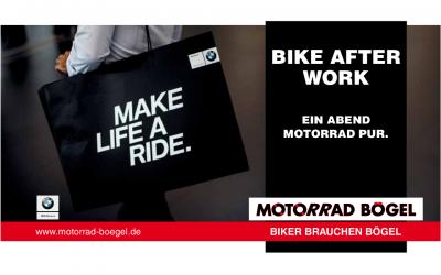 BIKE AFTER WORK – Ein Abend Motorrad pur.
