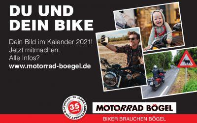 Du und Dein Bike – in unserem Kalender für 2021